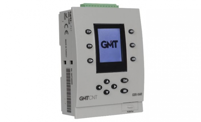GMT Endüstriyel'den ekranlı mini PLC