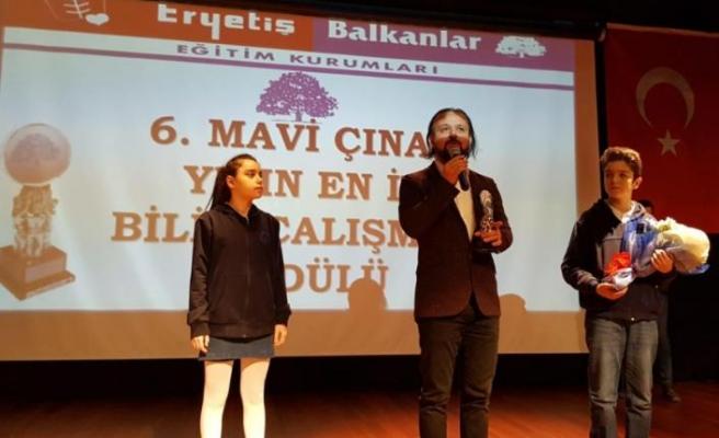 Öğrencilerden AkınSoft ve AkınRobotics'e ödül