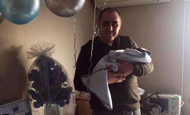 Osman- Hatice Potur çiftinin ikinci bebeği Batuhan doğdu