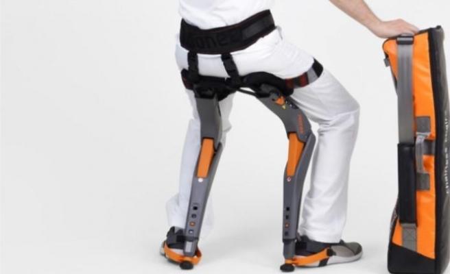 Teknorob, Chairless Chair ile çalışanların hayatını kolaylaştırıyor