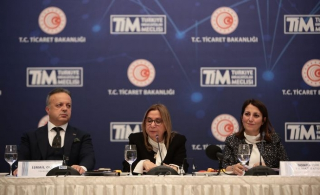 Ticaret Bakanı Pekcan'ın katılımıyla TİM toplandı