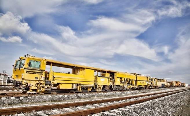 Yerli demiryolu ray bağlantı sistemi