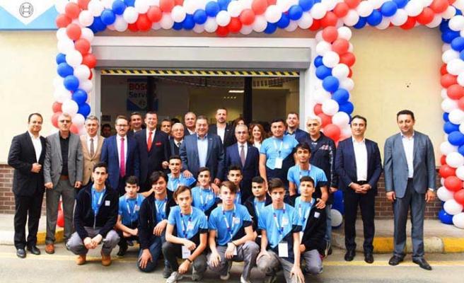 Bosch Service Eğitim Merkezi bugün açıldı