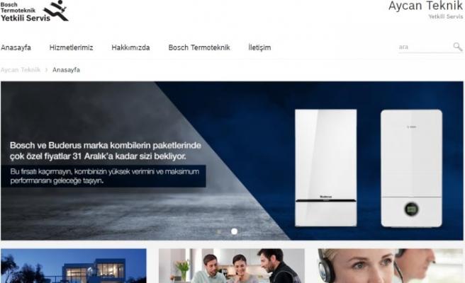 Bosch Termoteknik'ten yetkili servislerine website desteği