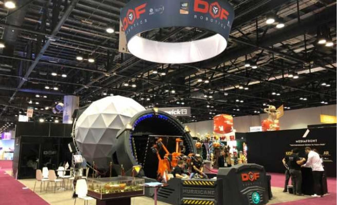 DOF Robotics ödüllü ürününü İstanbul'da görücüye çıkardı