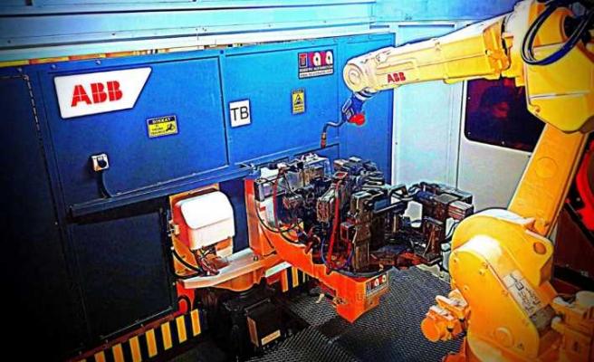 Gazaltı kaynak robot hücresiyle yüksek hız sağlıyor
