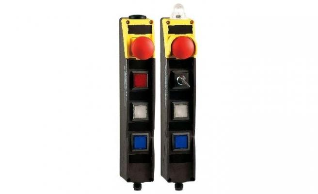 Schmersal'dan dahili SD arayüzlü kontrol paneli