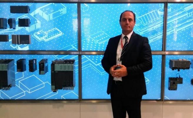 Siemens'in Amberg fabrikasındaki gerçek