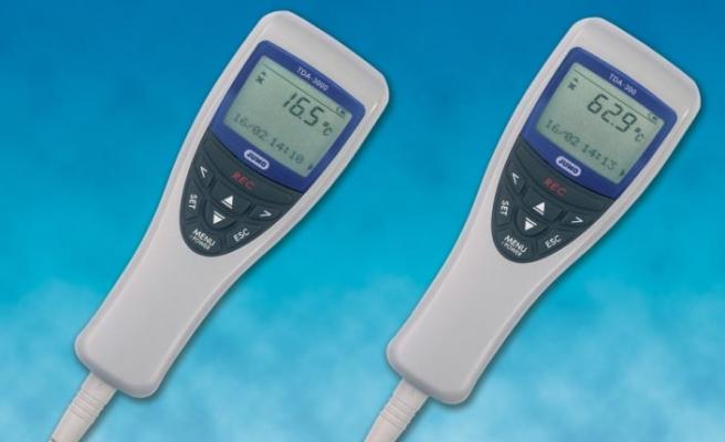 Termokupl probuyla kombinlenen el tipi termometre