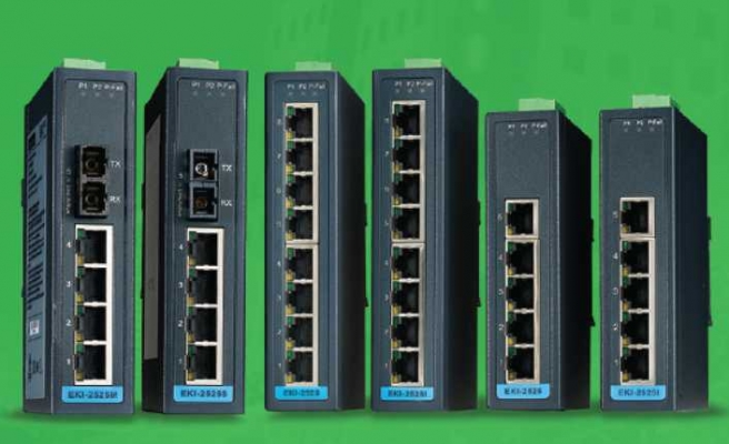 Advantech'ten güvenli ve basit standart switch'ler