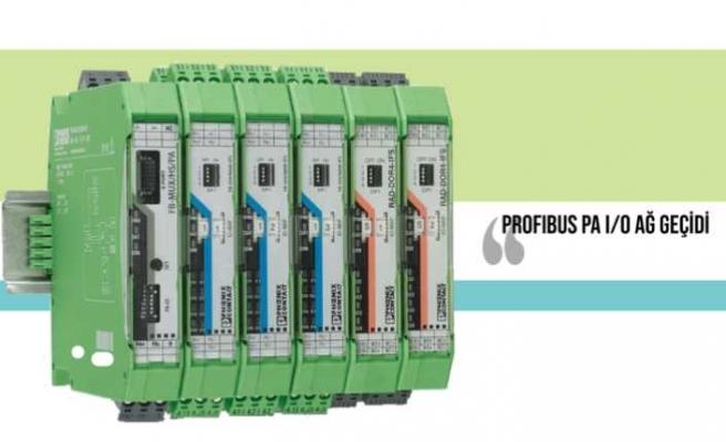 I/O'ların doğrudan PROFIBUS'a entegrasyonunu sağlıyor
