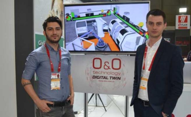 ONO Teknoloji digital twin uygulamasını WIN'de tanıtıyor