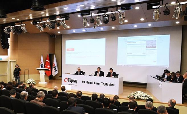 Tüpraş'ın 59. Genel Kurul Toplantısı tamamlandı