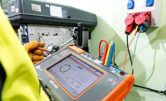Elektrik tesisatları için çok fonksiyonlu test cihazı