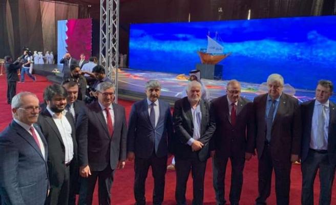 Katar'da yapılan otoyola Türk imzası