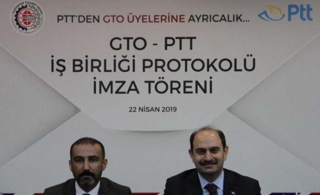 PTT ile GTO arasında iş birliği yapıldı