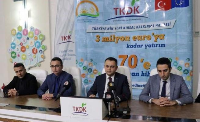 TKDK'den 215 milyon liralık hibe
