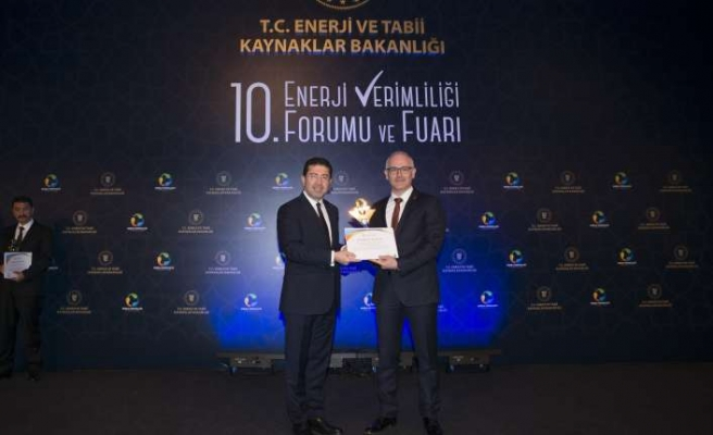 Tüpraş'a enerji verimliliğinde iki ödül birden