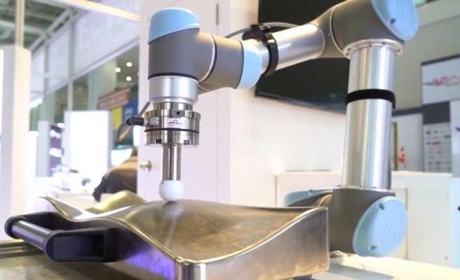Gömülü kuvvet/tork sensörüyle kaliteyi artırıyor