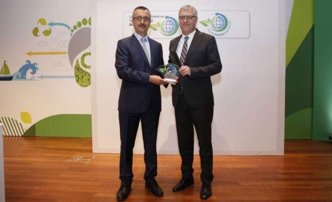 'Yeşil Düşün, Yeşil Hareket Et' projesine ödül