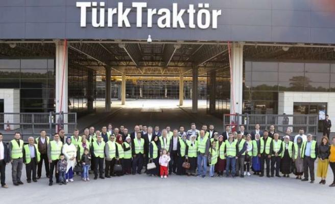 Dünya Çiftçiler Günü'nde TürkTraktör'den iftar etkinliği
