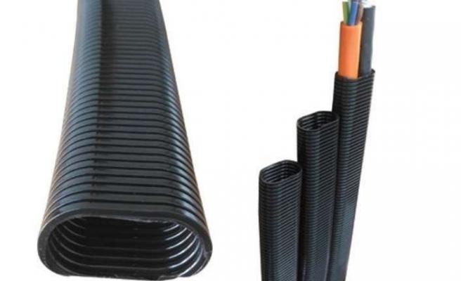 Kısıtlı alanlarda kabloları koruyor