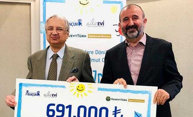 Kuveyt Türk'ten kanserli çocuklar için anlamlı destek