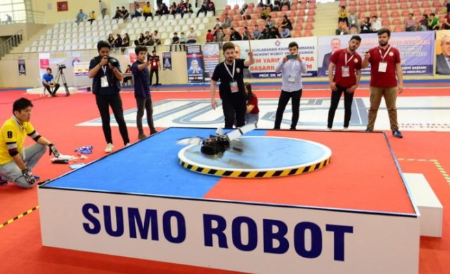 Maraş usulü robot yarışması