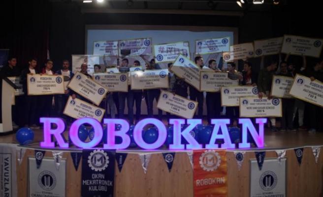 Robokan'da öğrenciler kıyasıya yarıştı