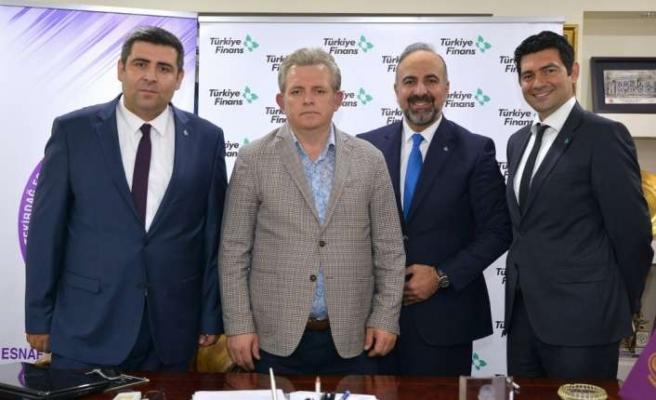 Türkiye Finans ile Tekirdağ Esnaf ve Sanatkarlar Odası arasında protokol