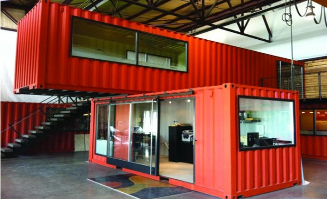 Endüstriyel modüler yapılarıyla hayatı kolaylaştırıyor