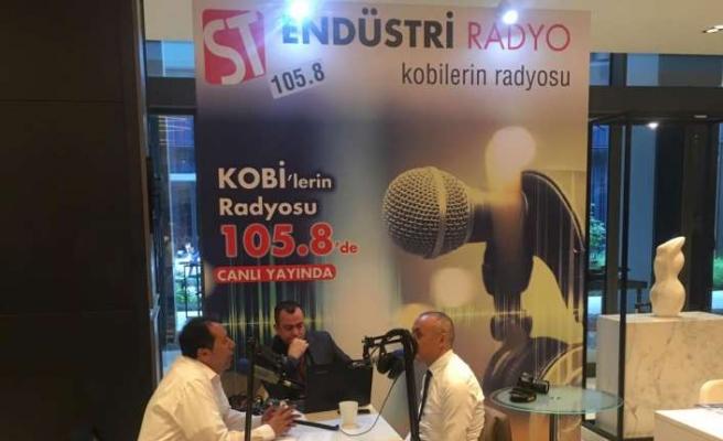 ST Endüstri Radyo MAKFED Makine Zirvesi'nde canlı yayında