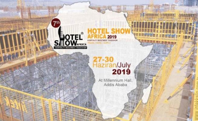 Kalıp ve iskele sistemlerini Hotel Show Africa fuarında tanıttı