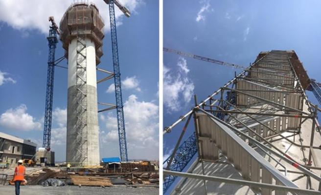 Sabiha Gökçen Havalimanı Kontrol Kulesi'nde işler Layher ile hızlanıyor