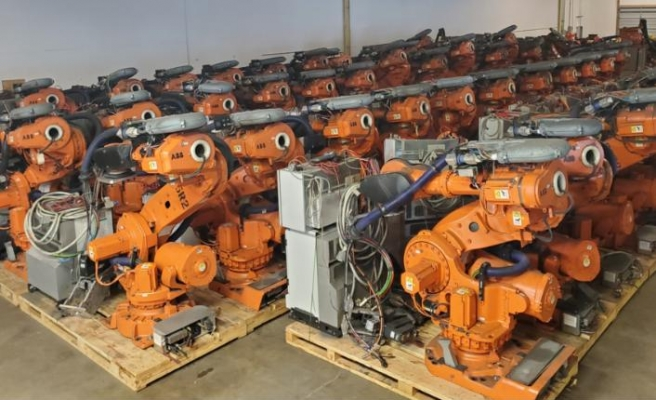 Türkiye'ye ve dünyaya robot ihraç ediyor