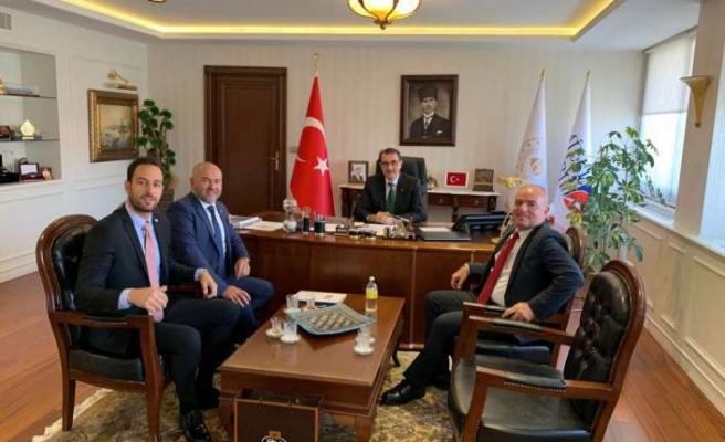 Enerji ve Tabii Kaynaklar Bakanlığı'na önemli ziyaret