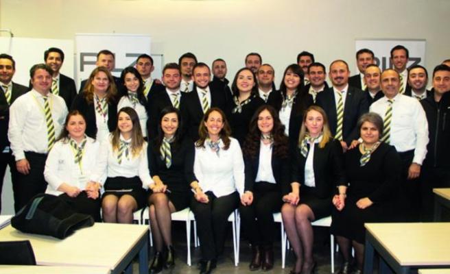 Global CEO'su Türkiye ekibini ziyaret etti
