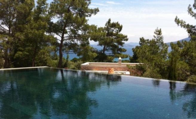 Yeşil Diyabaz ile Bodrum'da otel havuzlarına değer katıyor