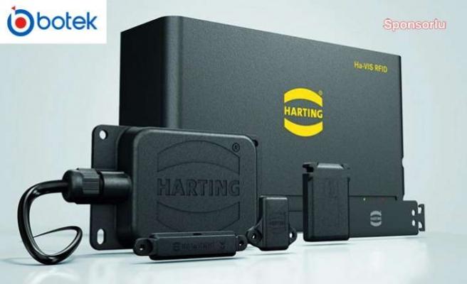 Bir üründen fazlası olan HARTING UHF RFID uygulamaları ve ürünleri