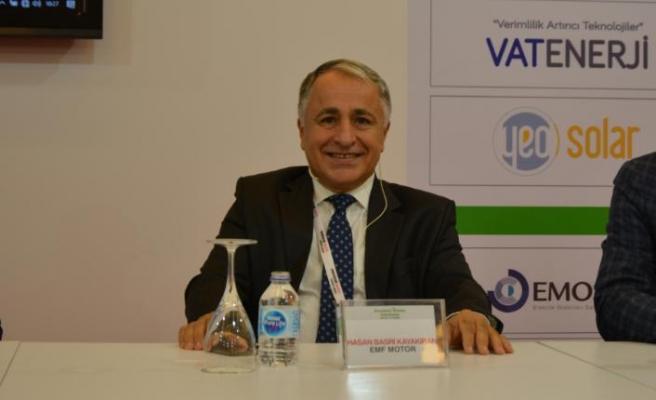 """EMF Motor YKB Hasan Basri Kayakıran:""""Yüzde 20-74  arasında enerji tasarrufu sağlıyoruz"""""""