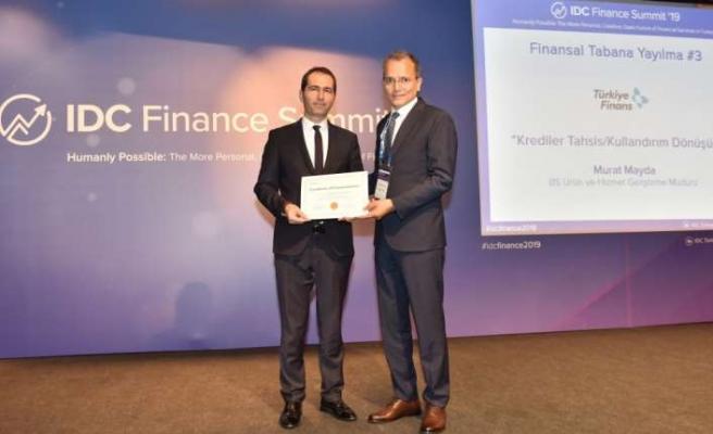 IDC Türkiye'den Türkiye Finans'a bir ödül daha