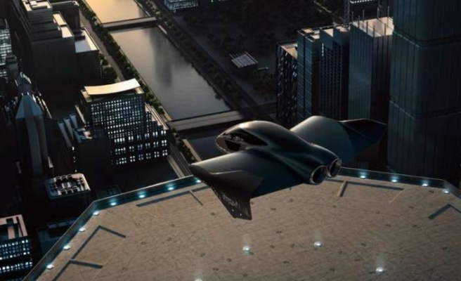 """Porsche ve Boeing """"şehir uçağı"""" için bir araya  geldi"""