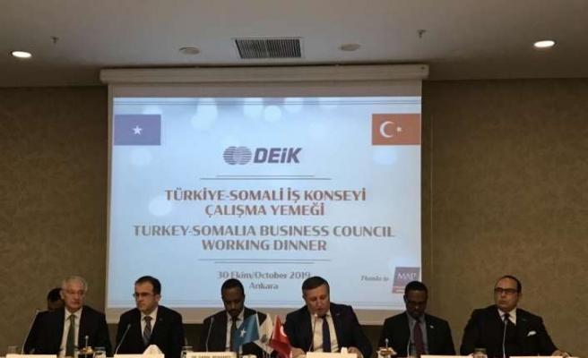"""""""Türkiye-Somali İş Konseyi Çalışma Yemeği"""" yapıldı"""