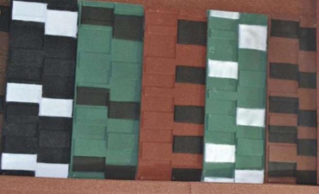 Afrika'da çatılar Metal Kiremit Shingle ile renkleniyor