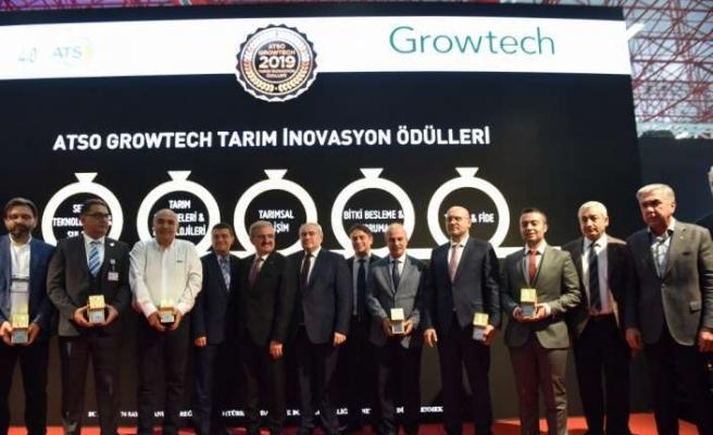 ATSO Growtech Tarım İnovasyon Ödülleri açıklandı