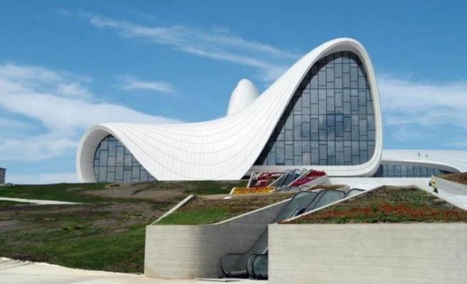 Haydar Aliyev Kültür Merkezi'nin tercihi Cersan Asansör
