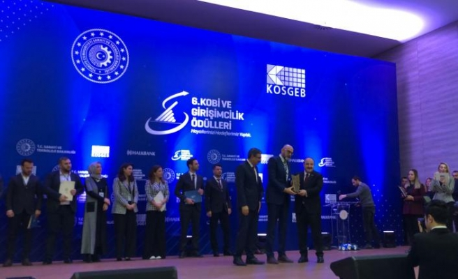 Asis Elektronik'e  KOSGEB'ten ödül