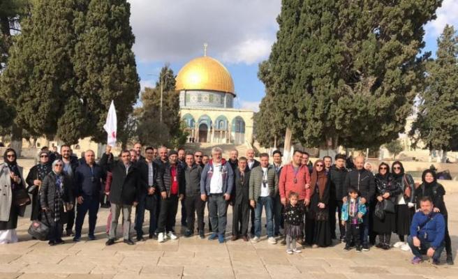 E.C.A. bayileri başarılarını Kudüs-Ürdün gezisi ile kutladı