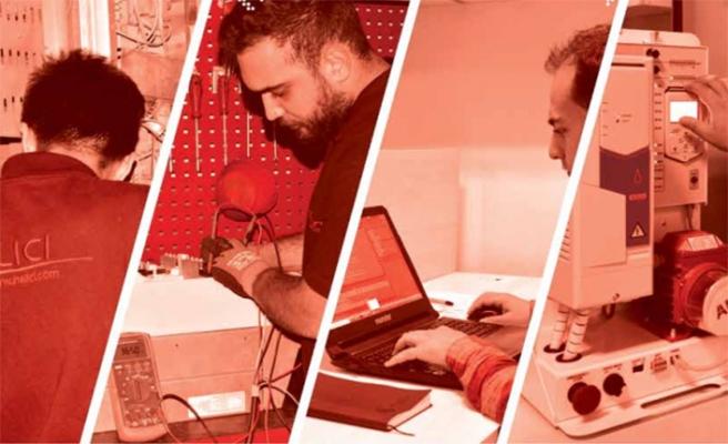 Halıcı Elektronik Türkiye'de ve  yurt dışında projeler gerçekleştiriyor