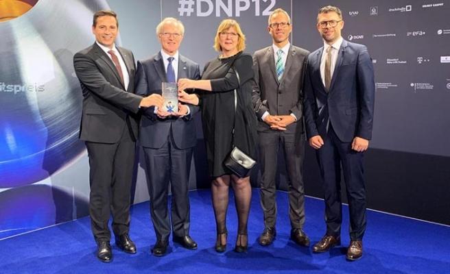 Schmalz'a sürdürülebilirlik alanında büyük onur